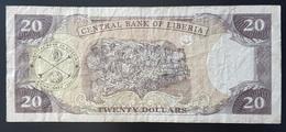 RS - Liberia 20 Dollars Banknote 2008 #CC4440395 - Liberia