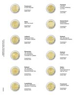 Multi Collect Illustrated Page For 2 EURO-Commemorative Coins: France 2019 - France 2020 - Zubehör