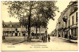 PUYBRUN - Grand'Rue - Voir Scan - Francia