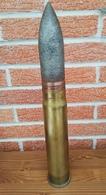 Obus De 6 Pounder Pour Char Anglais Mark IV De 14.18. WW1. - 1914-18