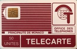 MONACO  -  Phonecard  -  MP 9  - 50 Unités - Monace