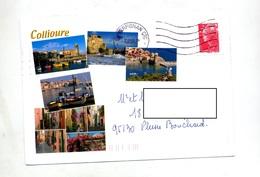 Lettre Flamme Muette Perpignan Illustré Collioure - Mechanical Postmarks (Advertisement)