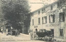 CPA 83 Var L'Esterel Auberge Restaurant Des Adrets Calèche - Autres Communes