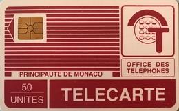 MONACO  -  Phonecard  -  MP 13  - 50 Unités - Monace
