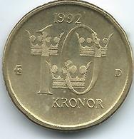 Sweden - 1992 - Carl XVI Gustaf - 10 Kronor - KM877 - Suecia