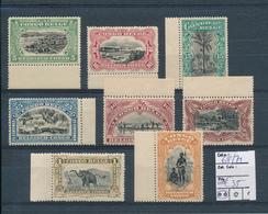 BELGIAN CONGO 1915 ISSUE COB 64/71 MNH - Congo Belge