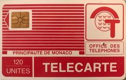 MONACO  -  Phonecard  -  MP 14  - 120 Unités - Monace