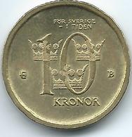 Sweden - 2002 - Carl XVI Gustaf - 10 Kronor - KM895 - Suecia