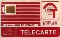 MONACO  -  Phonecard  -  MP 8  - 120 Unités - Monace