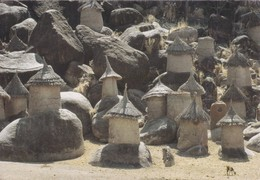 Afrique > View Of The Nuba Village Of Kau - Ansichtskarten