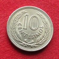 Uruguay 10 Centesimos 1959 KM# 35 *V1 Uruguai - Uruguay