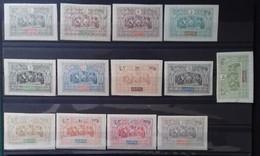 N° 47 à 59  NEUFS * MH COTE 160 € ENSEMBLE COMPLET DE 13 VALEURS - Obock (1892-1899)