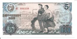 KOREA, NORTH 5 WON 1978 - Korea, North