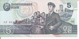 KOREA, NORTH 5 WON 1998 - Korea, North