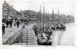 44 - LE POULIGUEN - Le Quai & Le Port   4 - Le Pouliguen