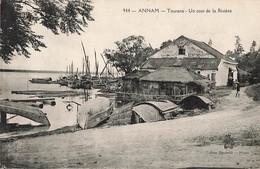 Viet Nam Annam Tourane Un Coin De La Riviere Vietnam Indochine - Viêt-Nam