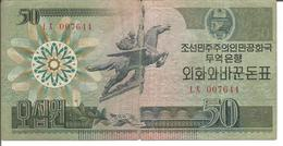 KOREA, NORTH 50 WON 1988 - Korea, North