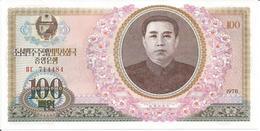 KOREA, NORTH 100 WON 1978 - Korea, North
