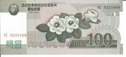 KOREA, NORTH 100 WON 2008 - Corée Du Nord