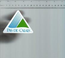 REF 6  : Autocollant Publicitaire Sticker Région Pas De Calais - Autocollants