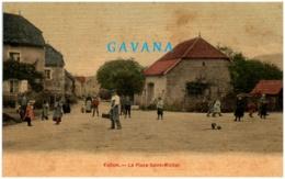 70 FALLON - La Place Saint-Michel - Francia