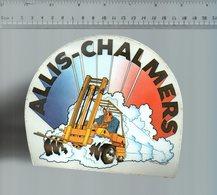 REF 6  : Autocollant Publicitaire Sticker Allis Chalmars - Autocollants