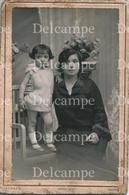 Cute GIRL FILLE & Her Young MOTHER - Barcelona SPAIN Cabinet Photo 15x10cm 1930' By ESTAPE Rambla Mendizabal MATARÓ - Orte