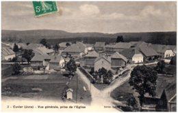 39 CUVIER - Vue Générale, Prise De L'église - Autres Communes