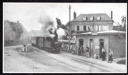 1994  --  TRAIN VAPEUR EN GARE DE DRUCOURT  . 3T155 - Unclassified