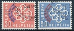 349-350 Serie Mit Ersttag Sonderstempel - Einheiltiche ET-Eckstempel - Usados