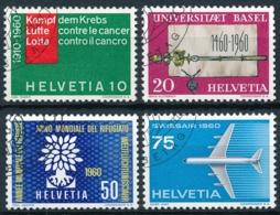 351-354 Serie Mit Ersttag Sonderstempel - Einheiltiche ET-Eckstempel - Usados