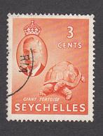Seychelles 1952   3c    SG159    Used - Seychelles (...-1976)