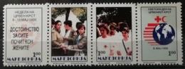 Macédoine 1995 / Yvert Croix Rouge N°46-49 / ** - Mazedonien