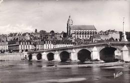 Blois, Le Pont Sur La Loire Et La Cathédrale Saint Louis (pk69522) - Blois