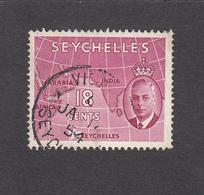 Seychelles 1952   18c    SG162    Used - Seychelles (...-1976)