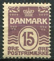DANEMARK -  Y&T  N° 52 *...perf 12.5 - 1905-12 (Frederik VIII)