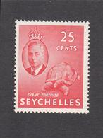 Seychelles 1952   25c    SG164    MH - Seychellen (...-1976)