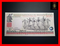 RWANDA 5.000 5000 Francs 1.12.1998  P. 28 A  UNC - Rwanda