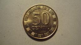 MONNAIE LITUANIE 50 CENTU 1998 - Lithuania