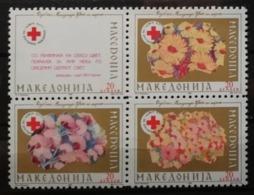 Macédoine 1992 / Yvert Croix Rouge N°8C-8F / ** - Mazedonien
