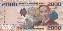 SIERRA LEONE 2000 LEONES 2010 UNC P 31 - Sierra Leone