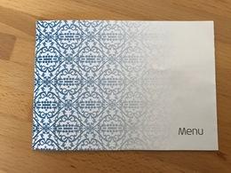 KLM MENU I15288 - Menus