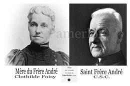 Relique - Saint Frère André Et Sa Mère - La Relique A été Deplace Mais C'est Une Originale Avec Le Sceau De L'oratoire - Religione & Esoterismo