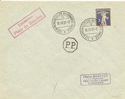 Schweiz,  18.4.1937, Drucksache Automobilpost PP, Zu 182, Siehe Scans! - Cartas