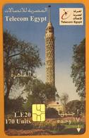 EGYPTE TELECOM TÉLÉCARTE LE 20 LE PHONECARD CARD - Egypte