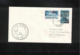 Australian Antarctic Territory 1980 Casey Base Interesting Cover - Brieven En Documenten