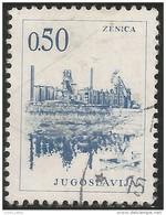 954 Yougoslavie Metal Mine Mining Zenica Acier Steel (YUG-279) - Autres
