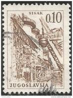 954 Yougoslavie Metal Mine Mining Sisak Acier Steel (YUG-283) - Autres