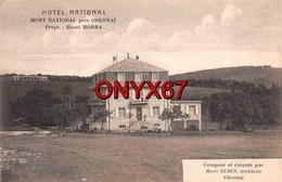 OBERNAI (67-Bas-Rhin) Hôtel National Propriétaire Henri Morra Architecte Henri Rudin - Obernai
