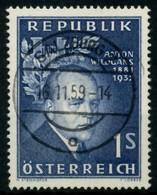 ÖSTERREICH 1957 Nr 1033 Zentrisch Gestempelt X7599D6 - 1945-60 Oblitérés